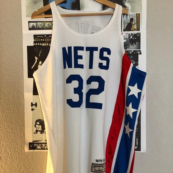 the best attitude 938b4 c553f 1975-76 Julius Erving Nets Jersey